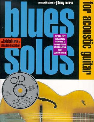 Blues Solos for Acoustic Guitar By Norris, Johnny